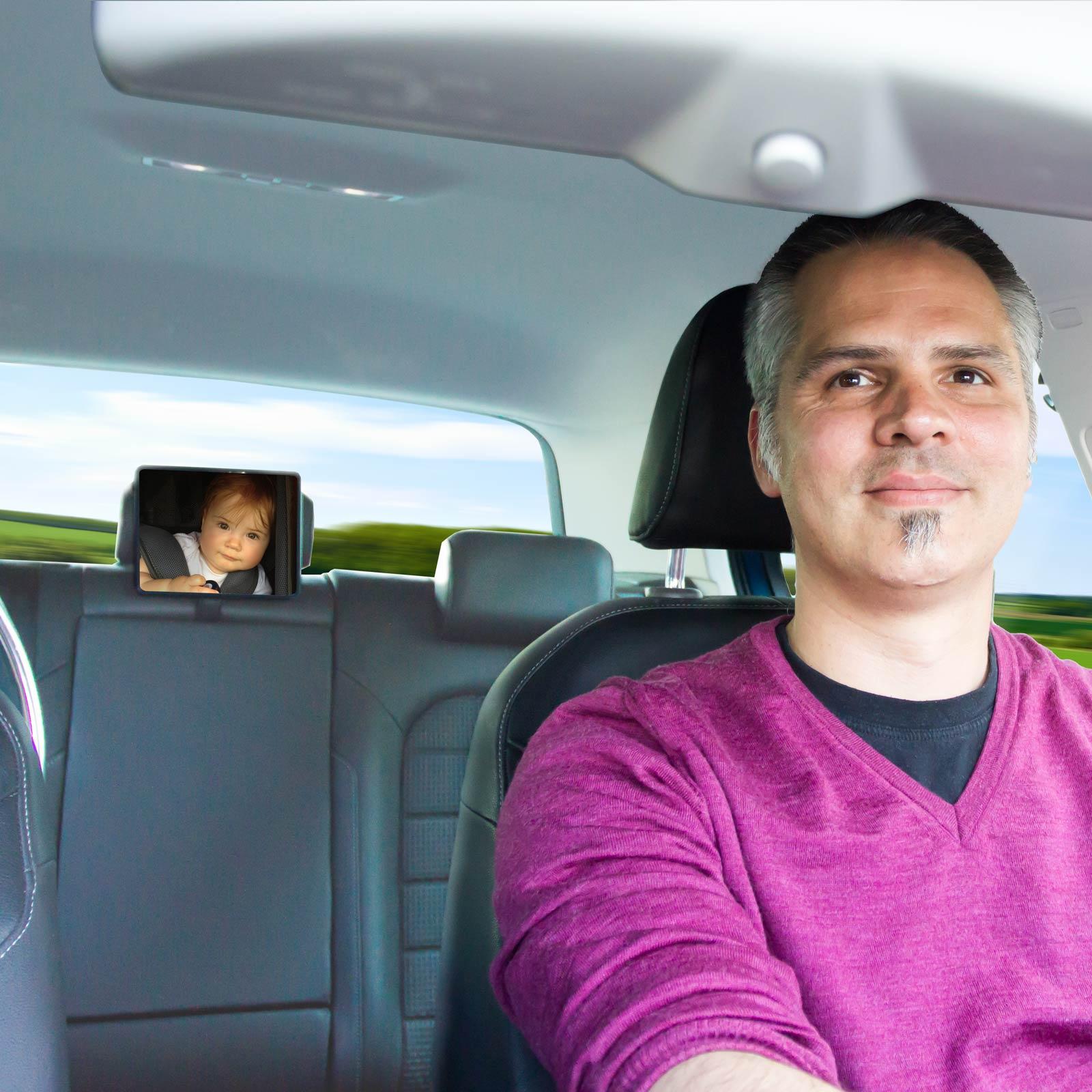 DIAGO - Car Safety Mirror Baby Car Seats & Reboard Seats