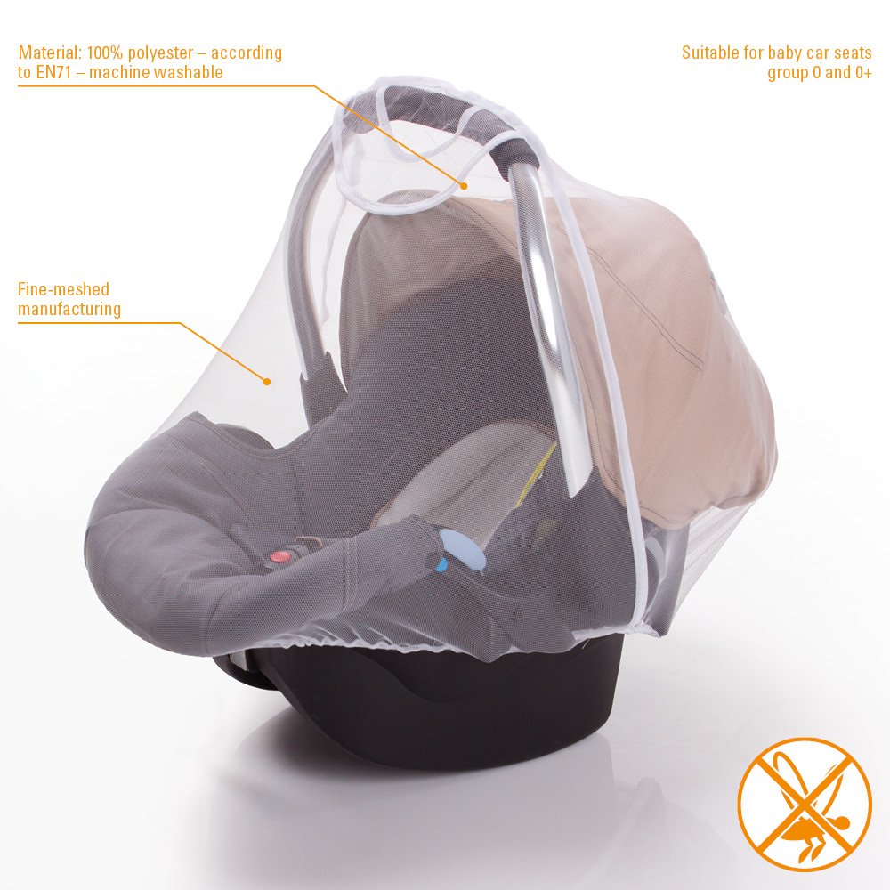 diago mosquito net for baby car seats. Black Bedroom Furniture Sets. Home Design Ideas
